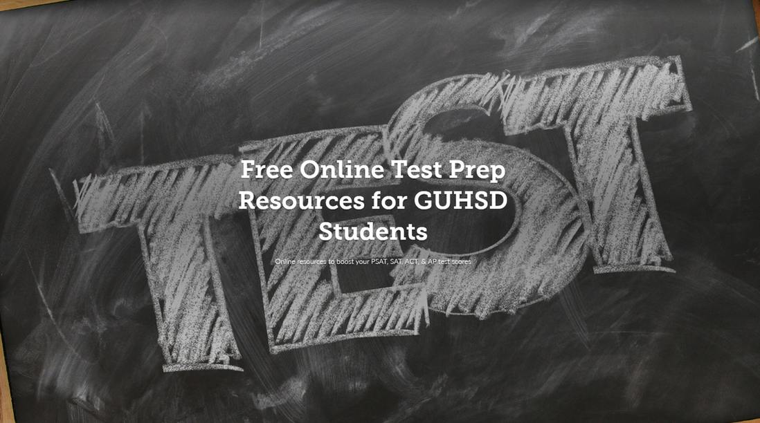 Free Online Test Prep Resources for GUHSD Students